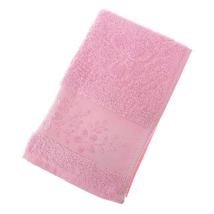 Полотенце махровое Fiesta Verona 30*50 см розовый 500гр/м, бамбук