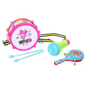 Набор музыкальных инструментов «Пати бэнд», 5 предметов, цвета МИКС