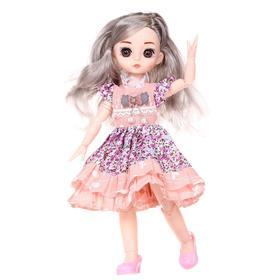 Кукла модная «Эльза», шарнирная, в платье, МИКС