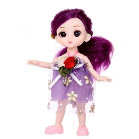 Кукла модная «Стеша», шарнирная, в платье, МИКС
