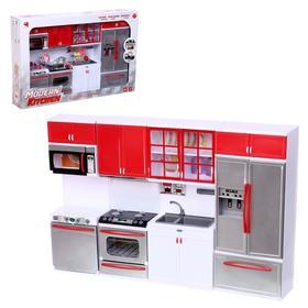 """Набор игровой """"Кухня"""" для кукол,звук,свет  с аксессуарами"""