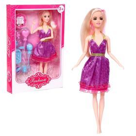 Кукла модель шарнирная «Стильный образ» с аксессуарами, МИКС