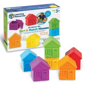 Развивающая игрушка «Домики для сортировки», 12 элементов