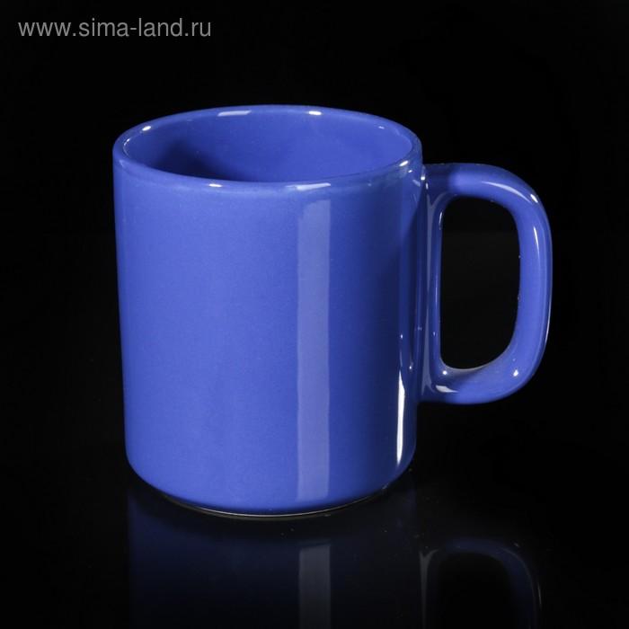 Кружка 280 мл, цвет синий