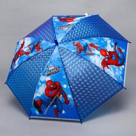 "Зонт детский ""Marvel Heroes"", Человек-паук, 8 спиц d=87см"