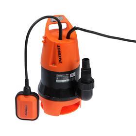 Насос дренажный PATRIOT F 800, для грязной воды, 810 Вт, напор 7 м, 216 л/мин, кабель 7 м
