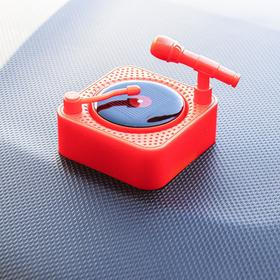 Accessory on the panel, rotating plate from the sun, red