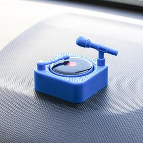 Accessory on the panel, rotating plate from the sun, blue