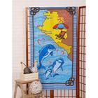 Вафельное полотенце «Море» 80х150 см - фото 282127585