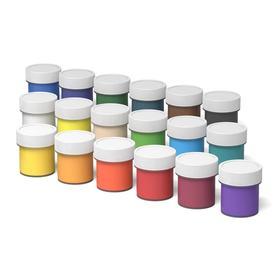 Гуашь 18 цветов х 20 мл, ErichKrause, с УФ-защитой яркости, в картонной упаковке - фото 7441904