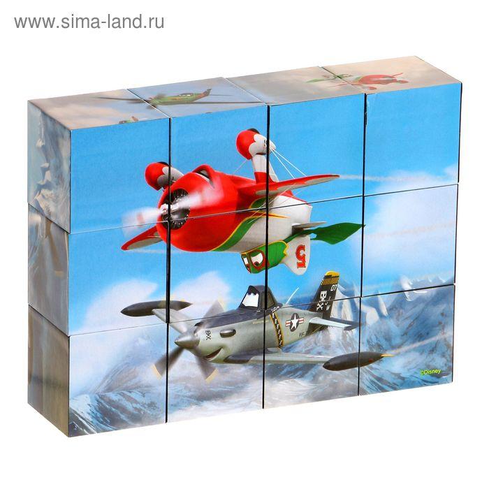 """Кубики """"Самолёты"""", 12 штук"""