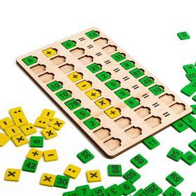 Игра настольная «Большая деревянная игра. Арифметика»