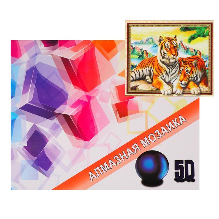 Алмазная мозаика с подрамником, полное заполнение «Семья» 40×50 см - фото 7451917