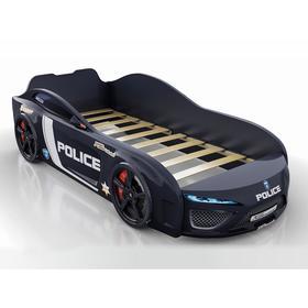 Кровать Romack Dreamer полиция, цвет чёрный