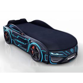 Кровать Romack Dreamer-M, ящик, цветная обшивка матраса, цвет неон