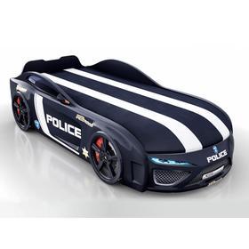 Кровать Romack Dreamer-M полиция, ящик, фирменная обшивка матраса, цвет чёрный