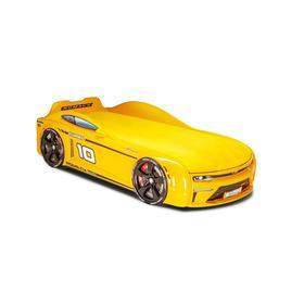 Кровать Romack Energy-M, ящик, цветная обшивка матраса, цвет жёлтый