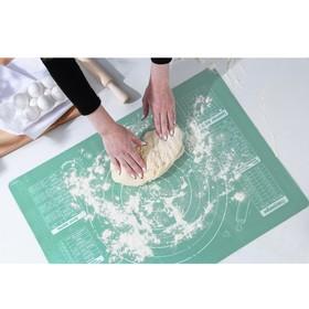 Силиконовый коврик для выпечки «Своими руками», 70 х 50 см