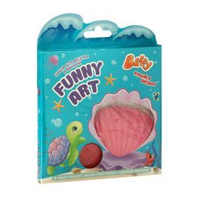 Набор для веселья в ванной FUNNY ART, для девочек