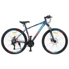 """Велосипед 27,5"""" Stels Navigator-720 MD, V010, цвет тёмно-синий, размер 17"""""""
