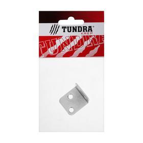 Уголок мебельный TUNDRA 28х28х1.5 мм, цинк, в упаковке 1 шт. - фото 7453626