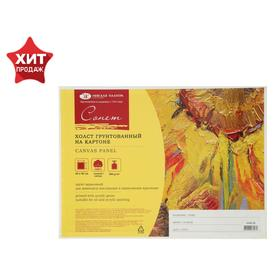 Canvas on Cardboard Cotton 100% 30 * 40 cm 3.5mm Acrylic Soil 5 Layers M / s ZHK Sonnet 280g / m²
