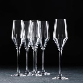 Набор бокалов для шампанского RONA Aram, 220 мл, 6 шт