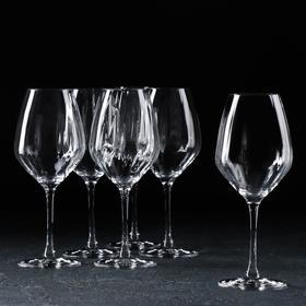 Набор бокалов для вина «Фаворит Оптика», 360 мл, 6 шт