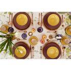 """Набор столовый """"Этель"""" Provence, скатерть 180х150 +/- 3см, салфетки 8 шт - фото 820359"""