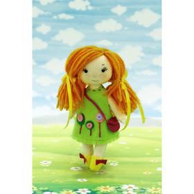 Набор для создания куклы из фетра Серия «Подружки» «Малышка Клара» 15 см