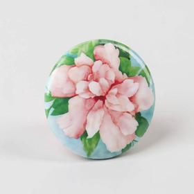 Игольница магнитная «Акварельный цветок», d = 2,5 см, цвет разноцветный