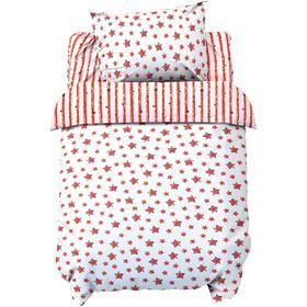 Постельное белье беби «LoveLife» Red stars 112*147 см, 60*120+20 см, 40*60 см