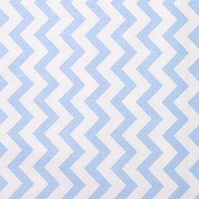 Постельное белье беби LoveLife «Голубые короны» 112*147 см, 60*120+20 см, 40*60 см - фото 7466176