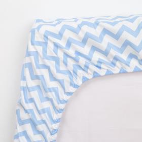 Постельное белье беби LoveLife «Голубые короны» 112*147 см, 60*120+20 см, 40*60 см - фото 7466177