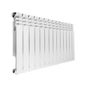 Радиатор алюминиевый REMSAN Master, 500х80 мм, 14 секций