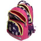 Рюкзак школьный, Luris «Гармония 2», 40 х 28 х 18 см, эргономичная спинка, «Мопс» - фото 820842