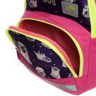 Рюкзак школьный, Luris «Гармония 2», 40 х 28 х 18 см, эргономичная спинка, «Мопс» - фото 820843