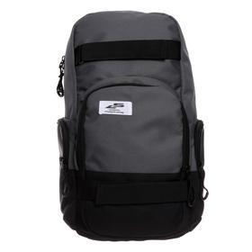 Рюкзак молодёжный, Luris «Скейт», 42 x 27 x 17 см, эргономичная спинка, серый