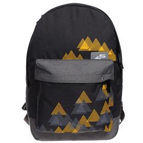 Рюкзак молодёжный Luris «Эра», 38 x 28 x 19 см, эргономичная спинка, «Треугольники»