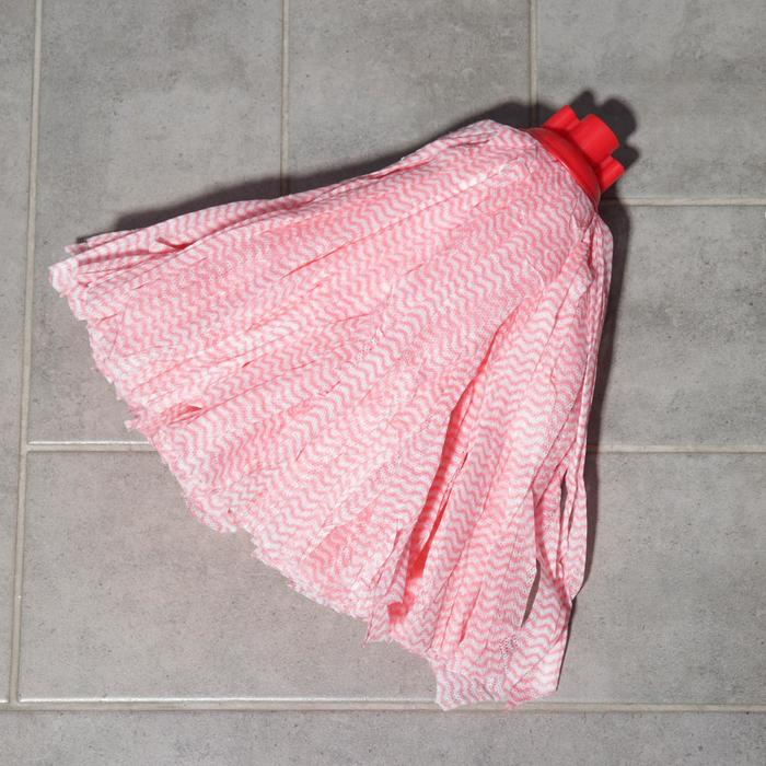 Насадка для швабры ленточная Доляна, вискоза 130 гр, цвет МИКС