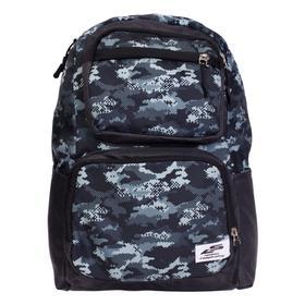 Рюкзак молодёжный, Luris «Рамон», 41 х 28 х 19 см, эргономичная спинка, «Камуфляж»