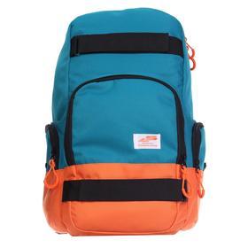 Рюкзак молодёжный, Luris «Скейт», 42 x 27 x 17 см, эргономичная спинка, морская волна