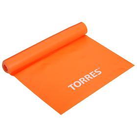 Эспандер TORRES, латексная лента, 120 х 15 см, сопротивление 4 кг