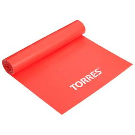 Эспандер TORRES, латексная лента, 120 х 15 см, сопротивление 8 кг