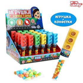 WOW Candy Набор игрушка + конфетки , светофор, Микс