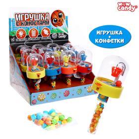 WOW Candy Набор игрушка + конфетки , баскетбол, Микс