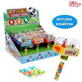 WOW Candy Набор игрушка + конфетки , футбол, Микс