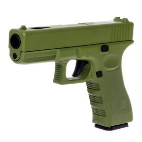 Пистолет Glock, цвет зелёный