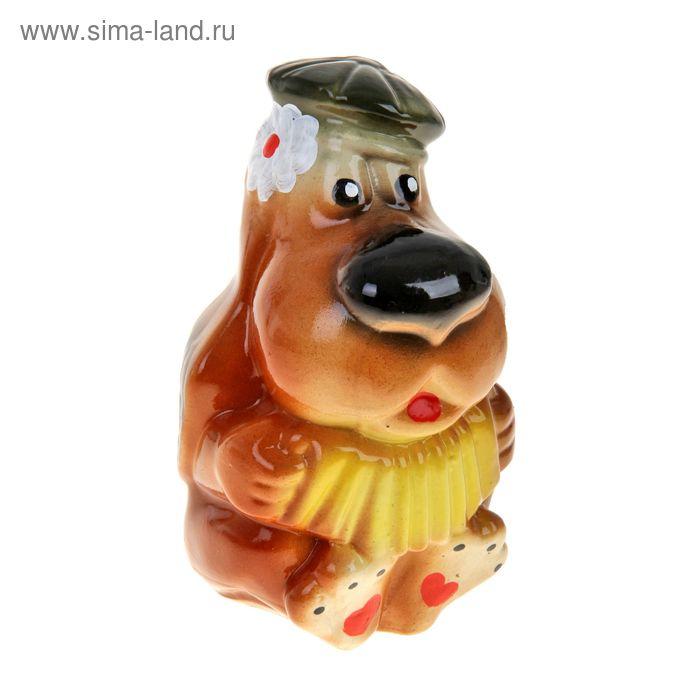 """Копилка """"Собака с гармонью"""""""