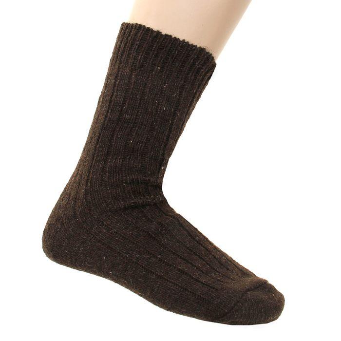 Носки мужские шерстяные, размер 25-27 (размер обуви 39-41 см), цвет микс
